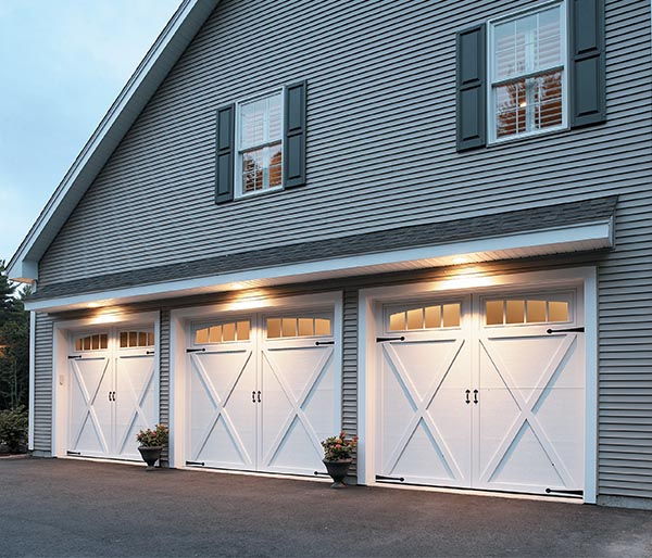 milford of coastal new paneled delmar traditional door style garage in and company look doors overhead from